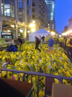 Photos of Boston on an horrific MarathonMonday